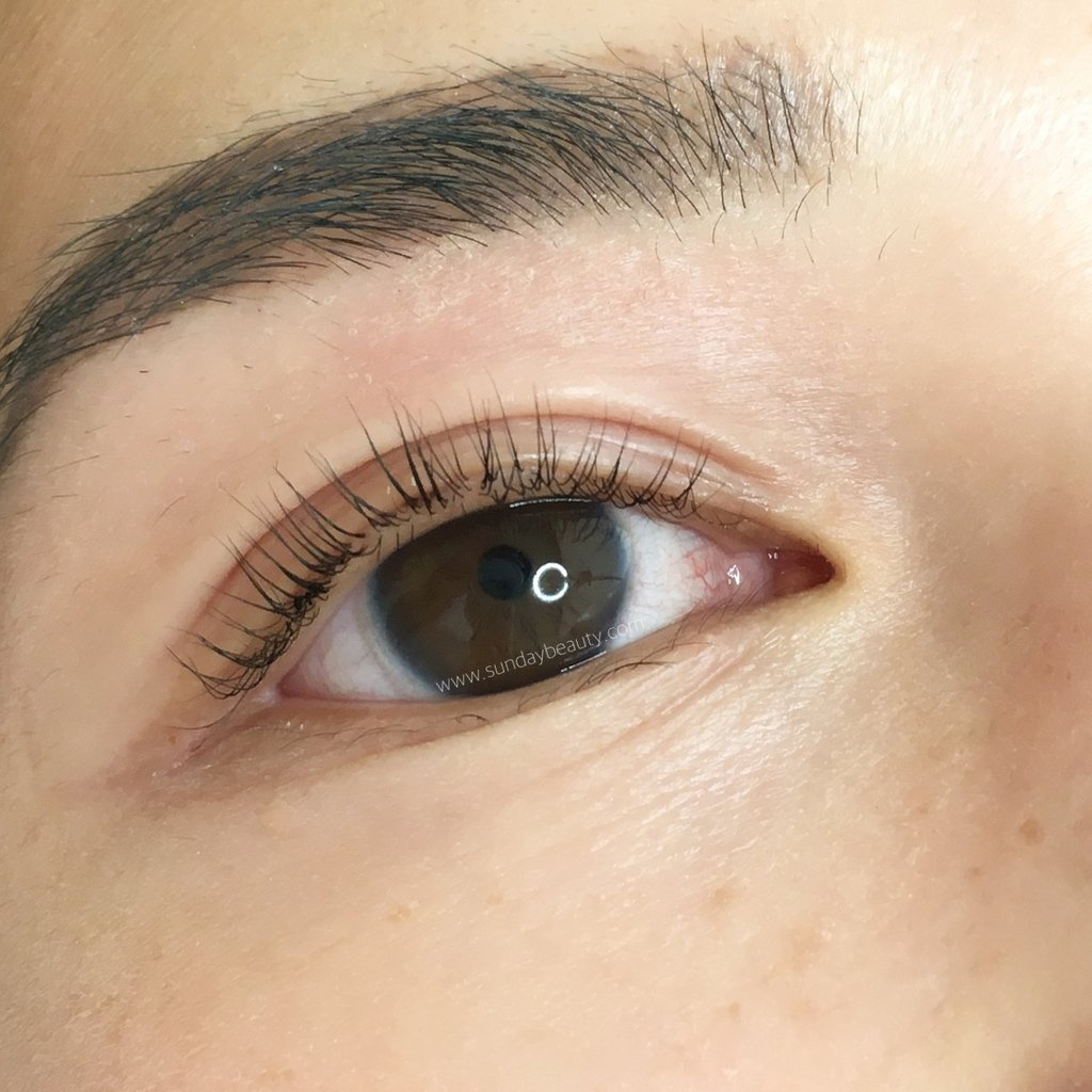 91d6abb8ecf Before using EyEnvy – Right after a lash lift and tint by AdornLashArtistry.